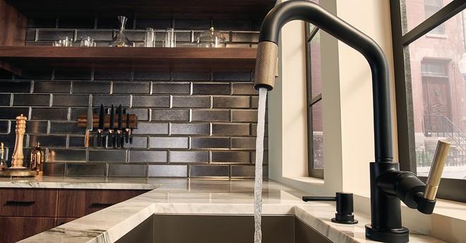 diamonds litze articulating faucet