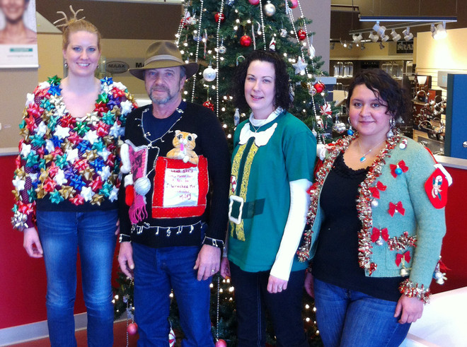 Top Winners Of Ugly Sweater Contest