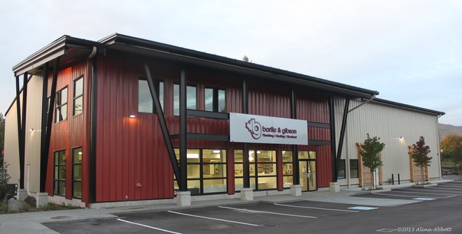 Bartle & Gibson Nanaimo BC Branch New Building