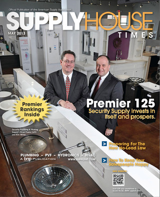 Supply House Times - May 2013